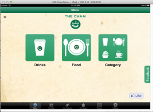 The Chaai iPad App